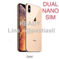 iPhone XS MAX 256GB GOLD Dual SIM Garansi Apple 256 GB Nano ed9e11bf28