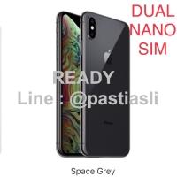 iPhone XS MAX 256GB SPACE GRAY Dual SIM Garansi Apple 256 GB GREY Nano 1a7e439f8a