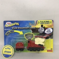 Thomas and Friends - Dino Discovery James Talking Metal Engine Train