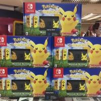 NSW Pokemon Let's Go Pikachu & Eevee Edition (Pikachu Poke Ball +)