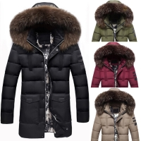 Jaket mantel parasut pria musim dingin/Winter coat jacket men