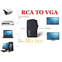 RCA TO VGA / AV TO VGA / VIDEO TO VGA CONVERTER