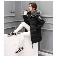 Jaket mantel bulu musim dingin wanita / Winter coat jacket women
