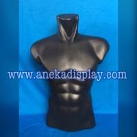 Manekin Body Cowo Hitam