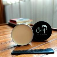 Jual Clay Matte Pomade Hair Clay Product Murah!! 100gr ( Free Sisir!) Murah