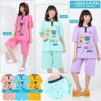 babydoll wanita jumbo / daster / piyama / baju tidur celana pendek XXL