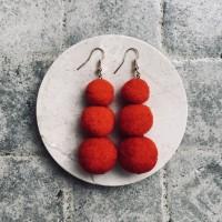 TAMTAM EARRINGS / ANTING CEWEK KOREA VINTAGE BYNOONI