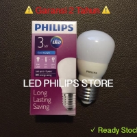 Lampu Bohlam LED Philips 3 Watt Putih/Cool Daylight (3W 3 W 3Watt)