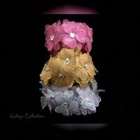 Renda Bunga Meteran Tabur Diamond