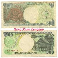 Harga uang kuno asli 500 orang utan tahun 1992 bekas harga   antitipu.com