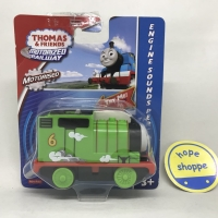 Thomas and Friends Motorized Railway Engine Sounds Percy Train Diecast