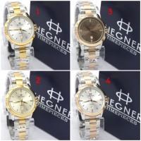 Jam Tangan Hegner 5017 Silver Kombinasi Jam Wanita Original Gaya Murah e46b0585e6