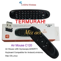 C120 2.4G Air Mouse Wireless Keyboard Remote Control For Android tv