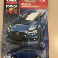 Tomica Cool Drive Mitsubishi Lancer Evolution X Blue