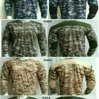 Harga Baju Kaos Loreng Lengan Panjang Hargano.com