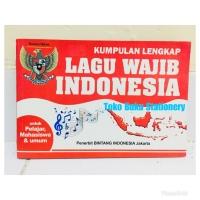 Buku Kumpulan Lagu Wajib Indonesia