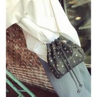 tas hobo handbag hitam wanita cewek fashion korea modis modern stylish