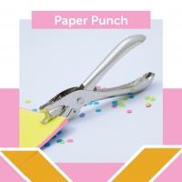 pembolong kertas 1 lubang /punch 1 hole / alat pembolong kertas