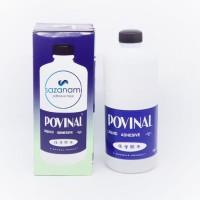 PROMO LEM POVINAL 113 500 ml Lem kertas cair bahan slime murah ORI