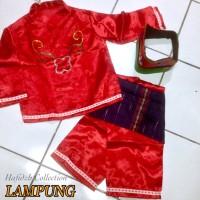 Baju Adat Anak LAMPUNG TK
