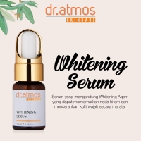 dr Atmos Whitening Serum - Anti Flek Serum Malam ( 08 006 002 )