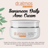 dr Atmos Sunscreen Daily Acne Cream-Tabir Surya u/ Jerawat(08 004 001)