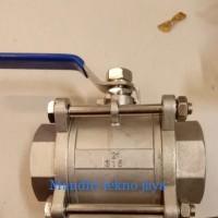 Harga 2 inch ball valve sankyo 3pc stainless steel kon drat   antitipu.com