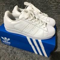 Sepatu Adidas Superstar All White For Women Original Made In Indonesia