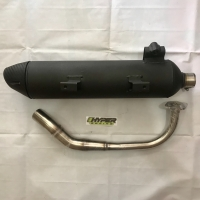 Knalpot AHM Original (Model Tsukigi) - Vario 125 / Vario 150 / PCX