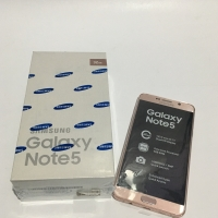 Samsung Galaxy Note 5 Pink Second