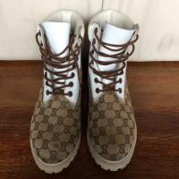 Shoes Sepatu Boots Timberland X Gucci Original Preloved