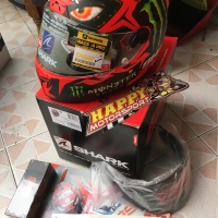 New!! Helm Shark RaceRPro carbon Type Diablo Lorenzo ori France M L XL