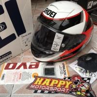SALE!! Helm full face Shoei X14 original Japan type Rainey size M TC-1