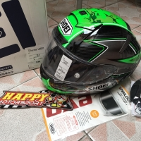 SALE!! New 100% helm fullface shoei X14 ori Japan Laverty size L TC-4