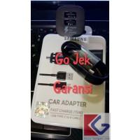 CAR CHARGER ORI GARANSI DUAL PORT SAMSUNG FAST USB C C9 NOTE 8 PLUS C7