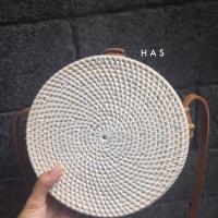 Jual Tas Ata Rotan Rattan Polos 20cm Boho Vintage Bali Murah Supplier Murah