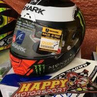 Helm Shark Race R Pro Lorenzo Monster Matt 2017 size M L XL ori France