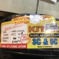 Kitani Kabel Antena Coaxial 5C (harga per meter)