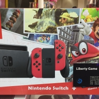 Jual NINTENDO SWITCH CONSOLE RED COLORS ( NOT INCLUDE GAME ) Murah