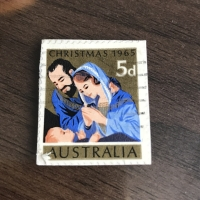 Perangko Christmas 1965 Australia