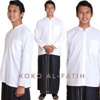 Baju Koko Lengan Panjang 2XL-3XL Al-Fatih