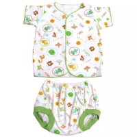 Setelan celana pendek bayi newborn