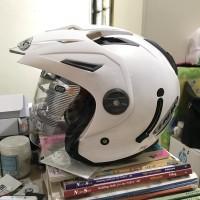 Helm INK T1 Putih