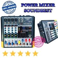 Harga power mixer sounbest jsd 4 channel original teknologi   Pembandingharga.com