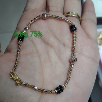 GELANG ROSEGOLD EMAS 75% MODEL TERKINI FASHION