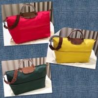 Tas Wanita merk Longchamp Travel Expandable import Semi Premium