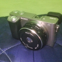 Sony a6000 lensa meike 28mm f 2.8