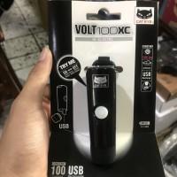 Headlamp / Lampu Depan Sepeda Cateye Volt100XC USB Charge