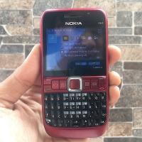 Nokia E63 Merah Normal Hp Jadul Klasik Qwerty Handphone Nostalgia
