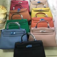 Tas Wanita merk Hermes Kelly Togo import Semi Premium